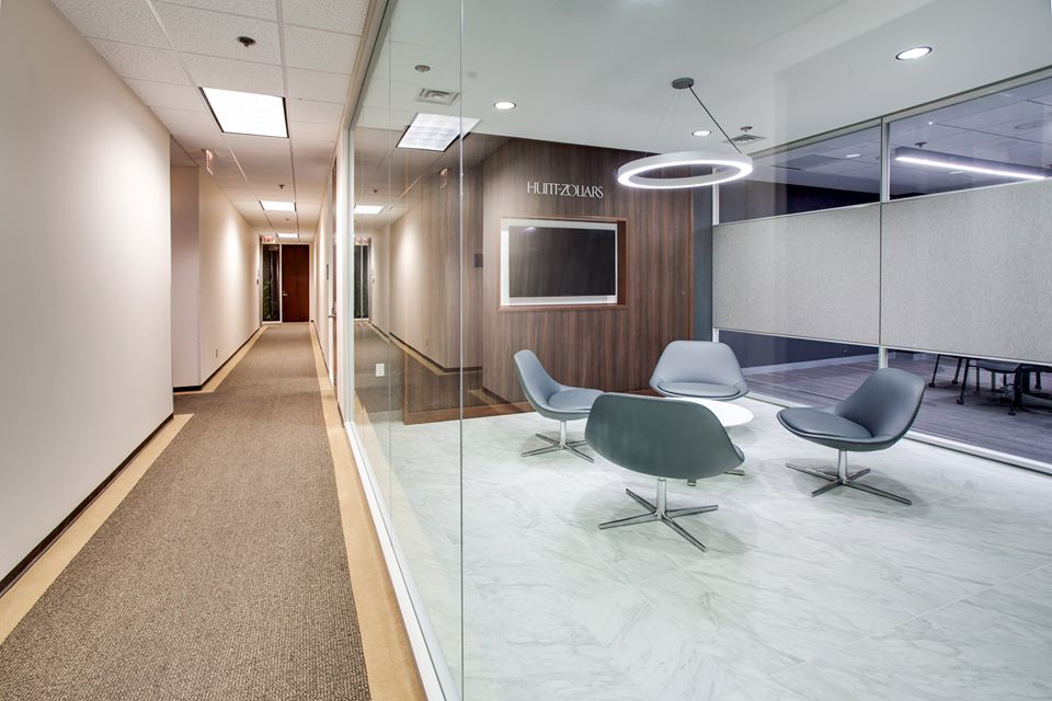 Huitt Zollars Recently Hired AIC To Complete Their New Office Spaces At One  Park Square In Uptown Albuquerque. The Results Are Amazing! The Designers  Did A ...