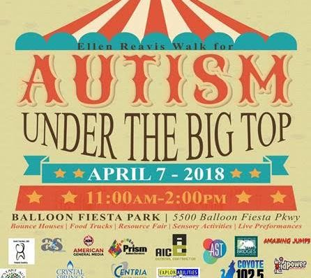 walk for autism nm